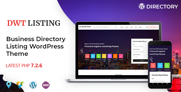 Image of DWT Listing - Directory & Listing WordPress Theme