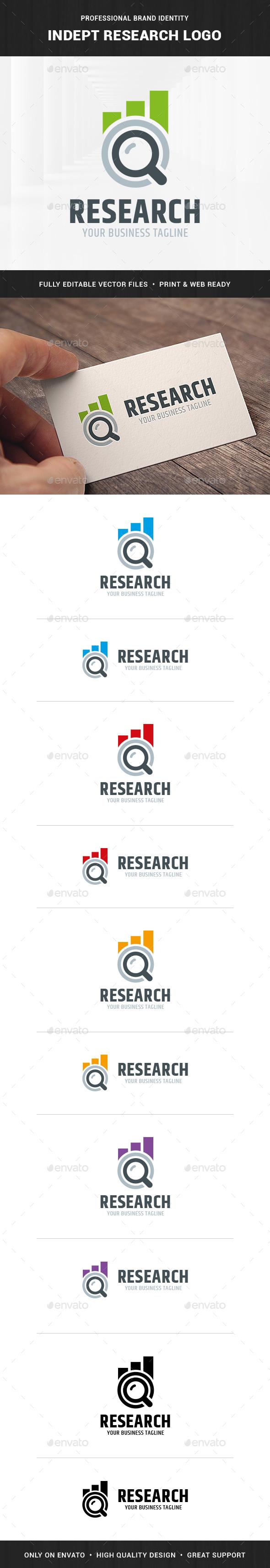 Indept Research Logo Template - Symbols Logo Templates