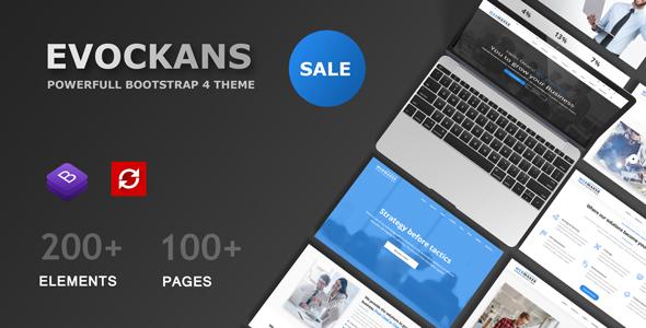 Image of Evockans Multi-Purpose Business Joomla Template