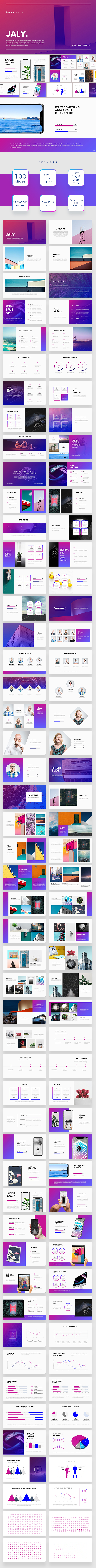 Jaly Keynote Template - Keynote Templates Presentation Templates