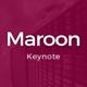 Maroon Keynote Template