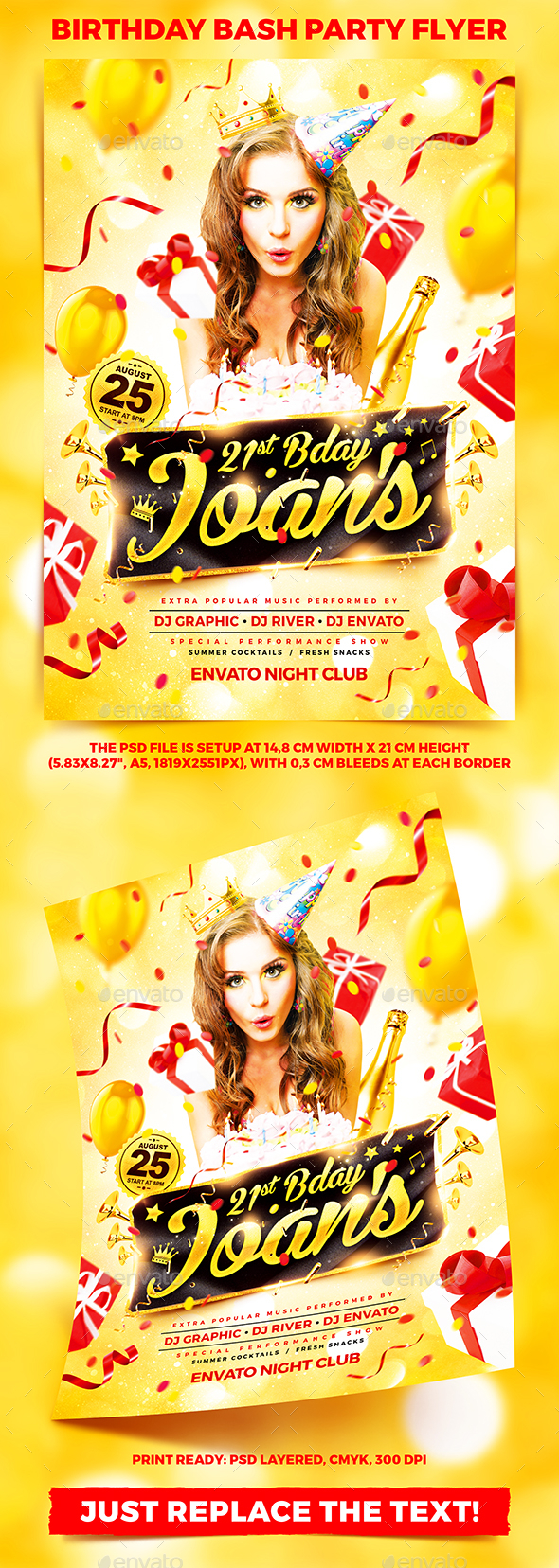Birthday Bash Party Flyer vol.2 - Clubs & Parties Events