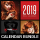 Wall Calendars 2019 Bundle V10 - GraphicRiver Item for Sale