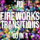 Fireworks Bokeh Transitions - VideoHive Item for Sale