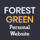 Forestgreen - Personal Website PSD Template - ThemeForest Item for Sale