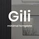 Gili Minimal Design Keynote Template - GraphicRiver Item for Sale