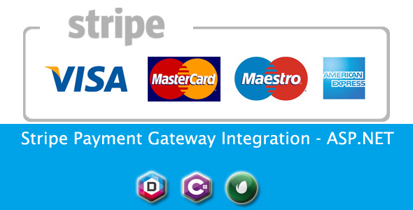 Stripe Payment Gateway Integration - ASP.NET - CodeCanyon Item for Sale