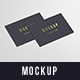 Business Cards Mockup 85x55 - GraphicRiver Item for Sale