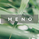 Meno Minimal Project Powerpoint Template - GraphicRiver Item for Sale