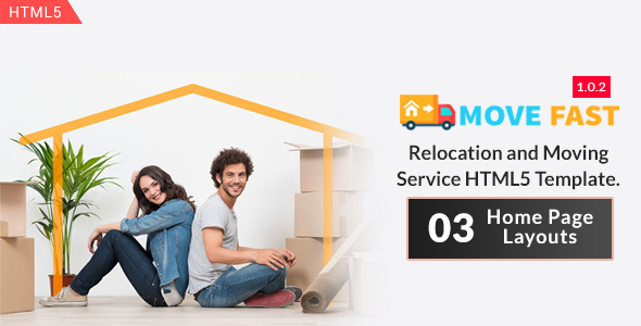 Move Fast - Relocation and Moving Service HTML5 Template