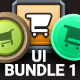 Mobile Game UI Bundle 1 - GraphicRiver Item for Sale