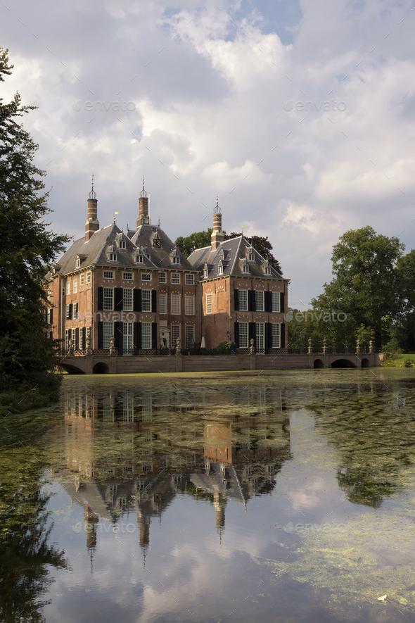 Castle Duivenvoorde near Voorschoten - Stock Photo - Images