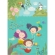 Cartoon Mermaids with Animals - GraphicRiver Item for Sale