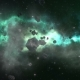 Flying Through an Asteroid Field - VideoHive Item for Sale