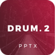 Drum 2 Powerpoint Template - GraphicRiver Item for Sale