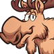 Cartoon Moose - GraphicRiver Item for Sale