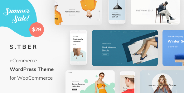 Image of Stber - eCommerce WordPress theme for WooCommerce