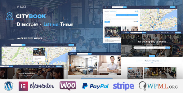 Image of CityBook - Directory & Listing WordPress Theme