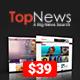 TopNews - News Magazine Newspaper Blog Viral & Buzz WordPress Theme - ThemeForest Item for Sale