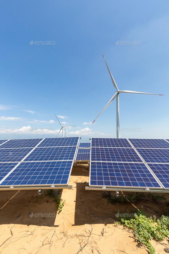 new energy landscape - Stock Photo - Images