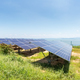 solar panels on lakeside - PhotoDune Item for Sale