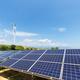 clean energy against a blue sky - PhotoDune Item for Sale