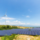 solar power station and wind farm - PhotoDune Item for Sale
