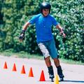 Senior man roller skating in park - PhotoDune Item for Sale