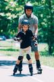 Grandson learning roller skating - PhotoDune Item for Sale