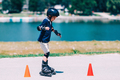Boy on roller skating class - PhotoDune Item for Sale