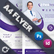 Health Application Flyer Templates - GraphicRiver Item for Sale