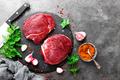Raw beef meat. Fresh beef steaks - PhotoDune Item for Sale
