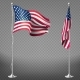 Vector Realistic Flags of United States of America - GraphicRiver Item for Sale