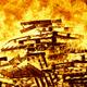 Burning fire. Bonfire. Fire fighting. Flame ignition. Warning. Danger - PhotoDune Item for Sale