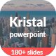 Kristal - Business PowerPoint Template - GraphicRiver Item for Sale