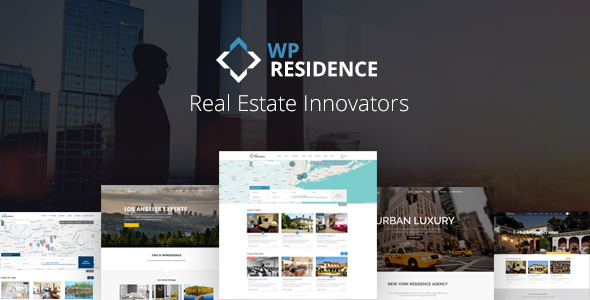 Residence Real Estate WordPress Theme - Real Estate WordPress