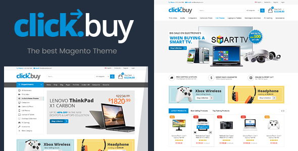 ClickBuy - Magento2 Responsive Digital Theme - Technology Magento
