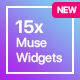 15x Adobe Muse Widgets by Rosea Themes - CodeCanyon Item for Sale