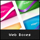 Web 2.0 Clean Fresh Containers/ Widget Boxes - GraphicRiver Item for Sale