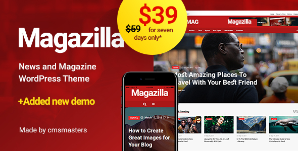 Magazilla - News & Magazine Theme - News / Editorial Blog / Magazine