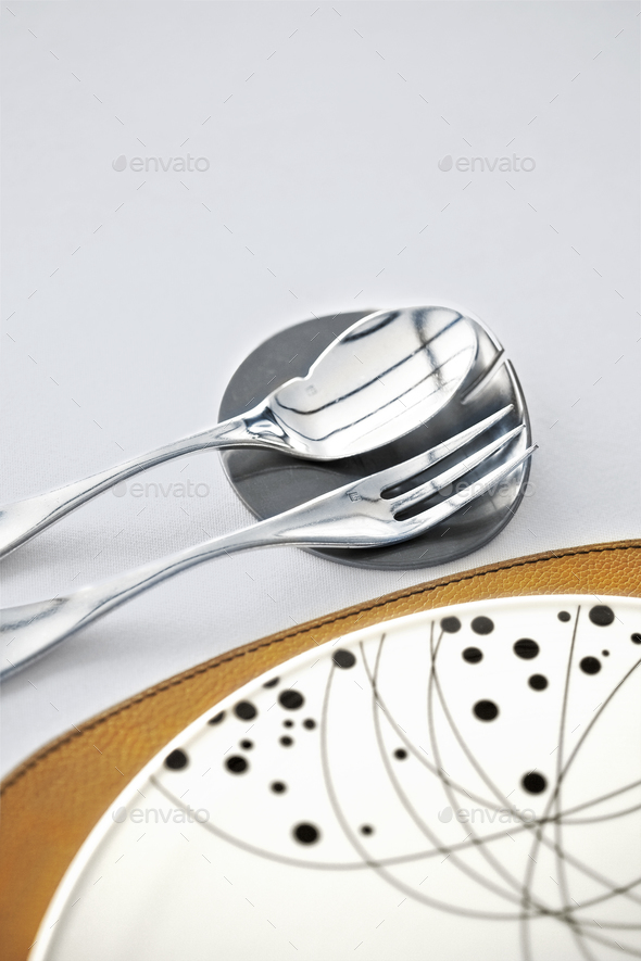 Cutlery close up - Stock Photo - Images