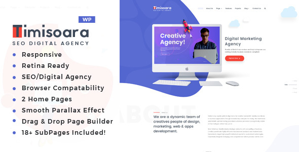 Image of Timisoara - Digital Marketing WordPress Theme
