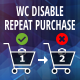 Woocommerce Disable Repeat Purchase - CodeCanyon Item for Sale