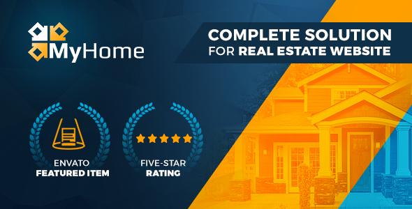 Image of Real Estate WordPress Theme | MyHome