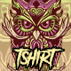 Tshirt Owl King - GraphicRiver Item for Sale