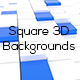 Square 3D Backgrounds - GraphicRiver Item for Sale