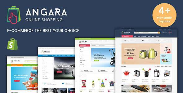 Angara - Multipurpose Mega Shop Shopify Theme + RTL + Dropshipping - Shopping Shopify