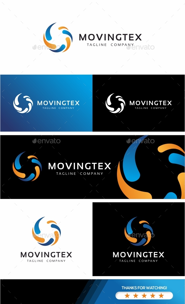 Moving Technology Logo - Symbols Logo Templates