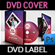 Music DVD Cover and Label Template - GraphicRiver Item for Sale