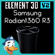 Samsung Radiant360 R3 for Element 3D - 3DOcean Item for Sale